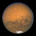 Two Mars Hubble images, August 26-27, 2003