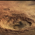 Maunder Crater in Perspective