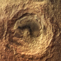 Maunder Crater in Noachis Terra, Mars Express